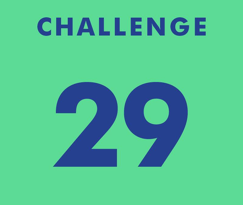 CHALLENGE 29